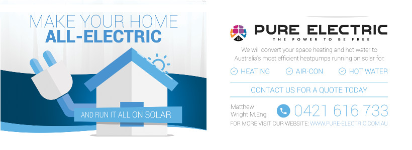 Pure Electric Power your home be free of the grid no more huge bills