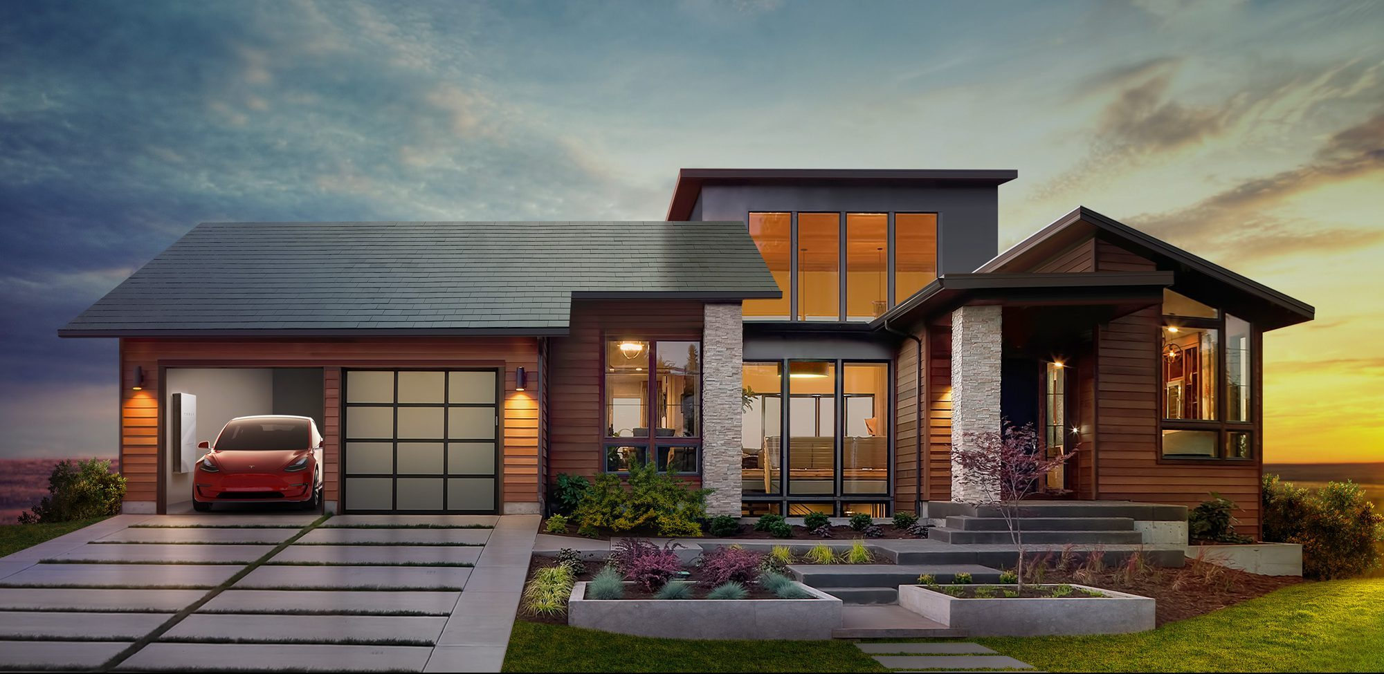 Tesla Rooftop solar, integrated, BIPV, roof