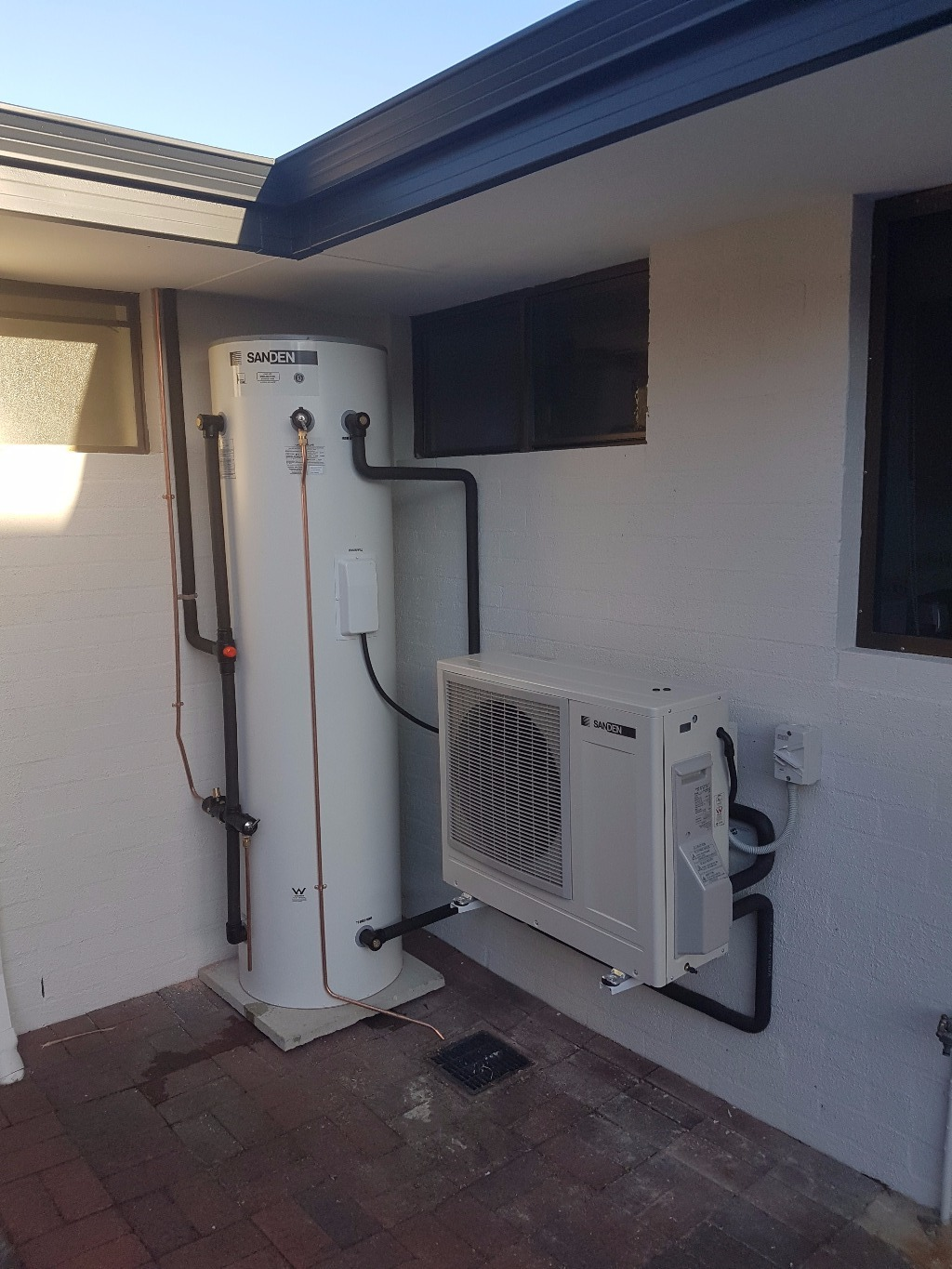 Como Perth WA Sanden Heat Pump