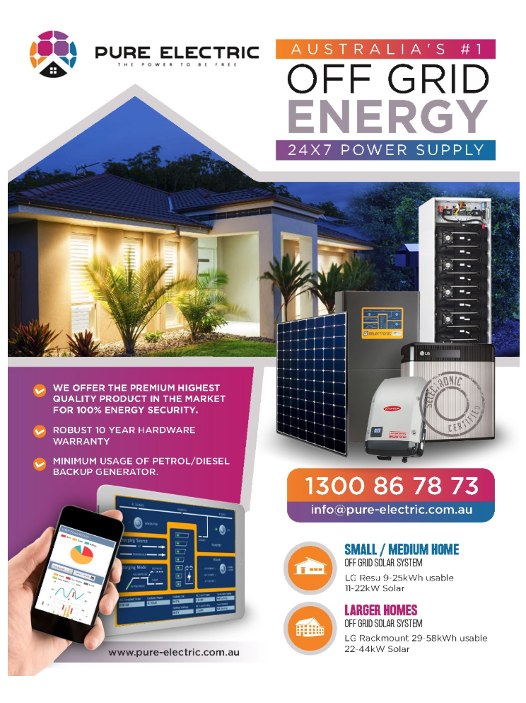 PureElectric Off Grid