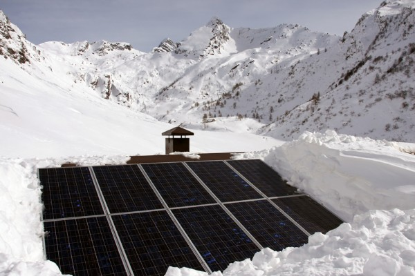 Winter solar is big solar