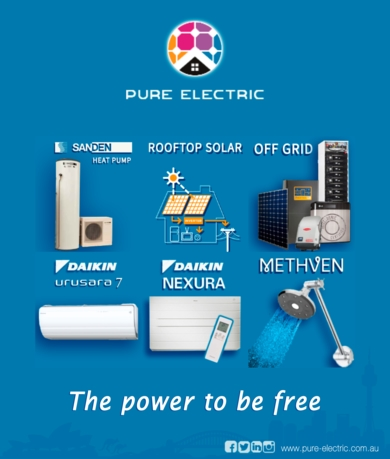 about pure electric