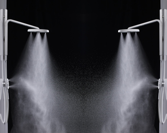 Nebia Showerhead - an upstart trying to compete with the Methven