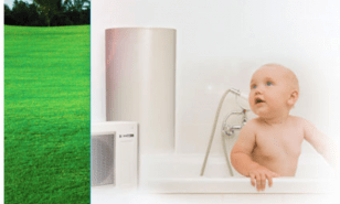 Sanden Eco Plus family enjoys fast efficient hot water