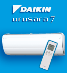 Daikin US7 Australia's most efficienct reverse cycle air conditioner heat pump