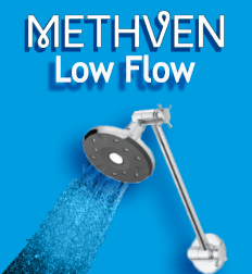 Methven Kiri Satinjet Ultra Low Flow 4.9 Litre premium showerhead