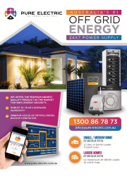 Pure Electric Off Grid Brochure