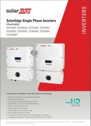 SolarEdge HD Wave Inverter Datasheet