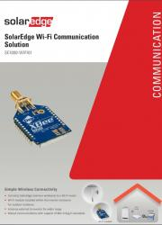SolarEdge Wifi Solution Datasheet