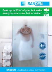 Sanden Eco Heat Pump FQS Brochure