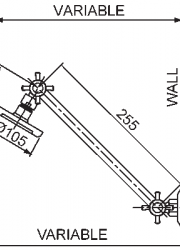 Diagram Shower on Capstan Arm